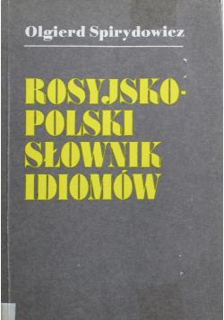 Rosyjsko -polski słownik idiomów
