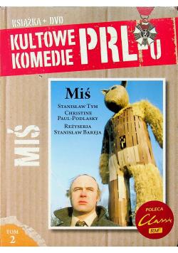 Kultowe komedie PRLu MIŚ Tom 2 DVD Nowa