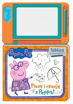Peppa Pig.Tablica z pomysłami. Piszę i rysuję...