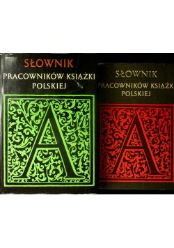 Słownik pracowników książki polskiej Zestaw 2 książek