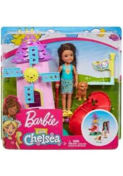 Barbie Chelsea + mały zestaw FRL85