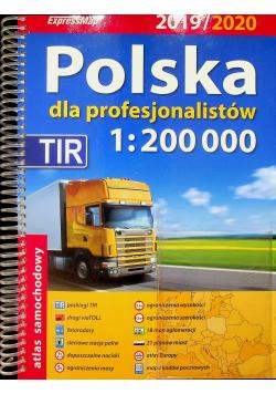 Polska dla profesjonalistów 1:200 000 Atlas samochodowy