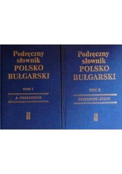 Podręczny słownik polsko bułgarski Tom I i II