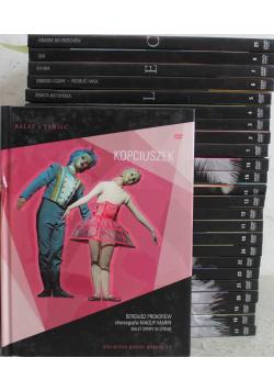 Balet i taniec 25 płyt DVD