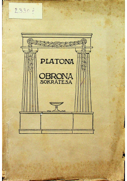 Obrona Sokratesa 1929 r.