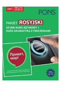 Pakiet: Rosyjski 2w1 Kurs + gramatyka PONS