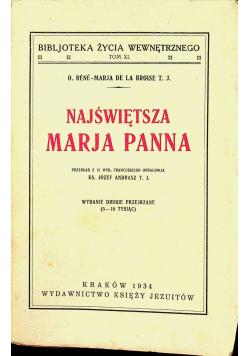 Najświętsza Maryja Panna 1934 r