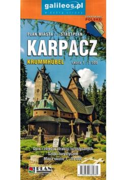 Plan miasta - Karpacz 1:7 500