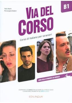 Via del Corso B1 podręcznik + online EDILINGUA