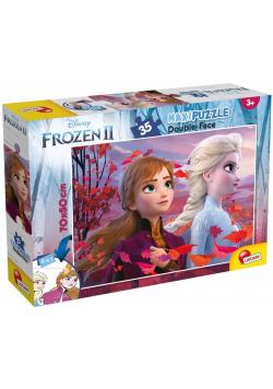 Puzzle dwustronne Supermaxi 35 Frozen II