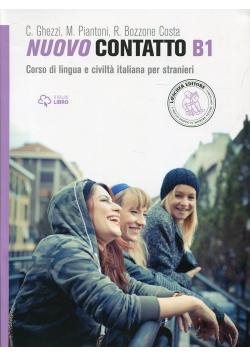 Nuovo Contatto B1 Podręcznik z ćwiczeniami