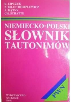 Niemiecko-polski słownik tautonimów