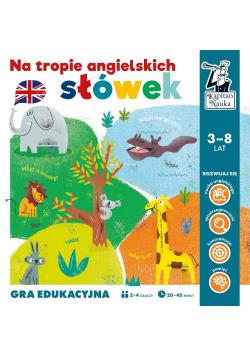 Gra edukacyjna - Na tropie angielskich słówek