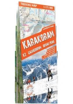 Trekking map Karakorum 1:175 000 mapa
