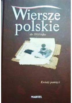 Wiersze polskie po 1918 roku Kwiaty pamięci