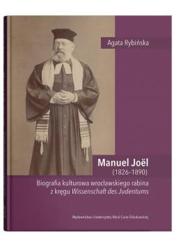 Manuel Joel (1826-1890). Biografia kulturowa...
