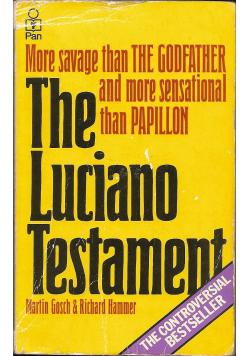 The Luciano Testament