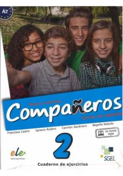 Companeros 2 ćwiczenia + licencia digital
