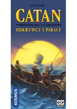 Catan Odkrywcy i Piraci Dodatek dla 5 - 6 graczy  NOWA