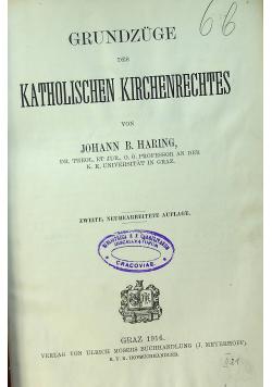 Grundzuge katolischen kirchenrechtes 1916 r