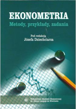 Ekonometria Metody przykłady zadania
