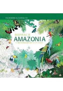 Kolorowanki dla dorosłych. Inspiracje Amazonia