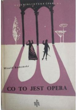 Co to jest opera