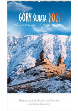 Kalendarz 2021 Reklamowy Góry Świata RW10