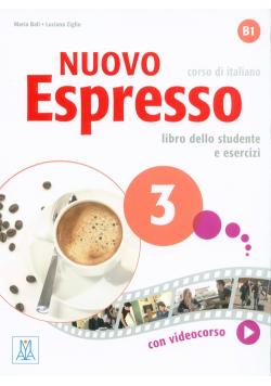 Nuovo Espresso 3 Libro dello studente e esercizi + + CD