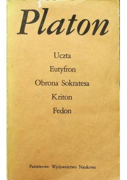 Uczta Eutyfon Obrona Sokratesa Kriton Fedon