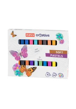 Pastele suche 24 kolory EASY