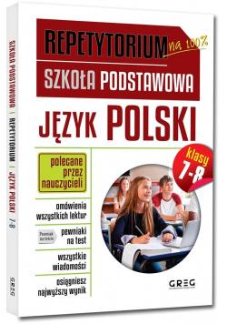 Repetytorium SP Język polski kl.7-8 GREG