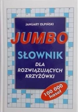 Jumbo Słownik dla rozwiązujących krzyżówki