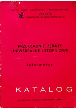 Przekładnie zębate uniwersalne 1 stopniowe Informator