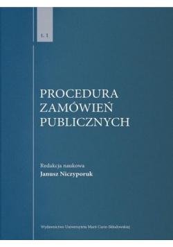 Procedura zamówień publicznych T.1