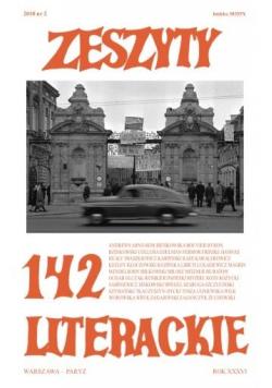 Zeszyty literackie 142 2/2018