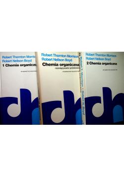 Chemia organiczna tom I do III