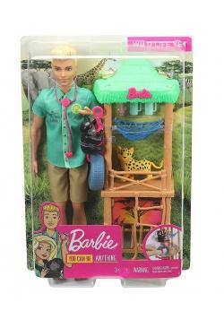 Barbie Zestaw Ken kariera zawodowa GJM33