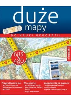 Zestaw map do nauki geografii