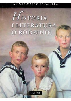 Historia i literatura o rodzinie