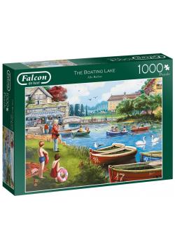 Puzzle 1000 Falcon Przystań nad jeziorem G3