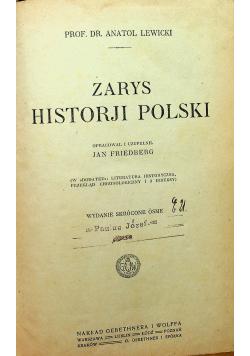 Zarys Historji Polski 1920 r.