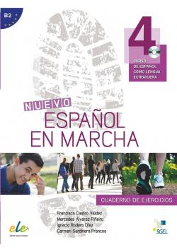 Nuevo Espanol en marcha 4 ćwiczenia + CD SGEL
