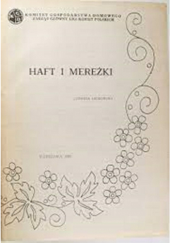 Haft i Mereżki