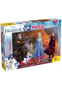 Puzzle dwustronne Plus 108 Frozen 2