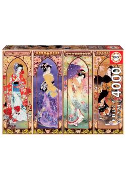Puzzle 4000 Japoński kolaż G3