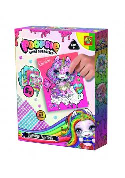 Kreatywna zabawa - Wyklejanie diamencikami Poopsie