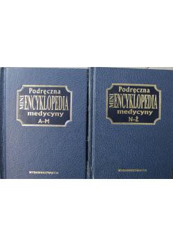 Podręczna mini encyklopedia medycyny 2 tomy