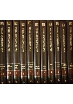 Wielka Encyklopedia PWN 11 tomów