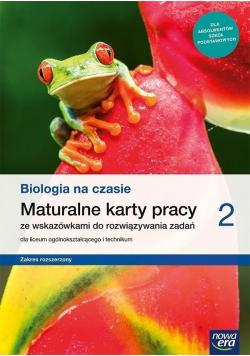 Biologia na czasie Maturalne karty pracy 2 Zakres rozszerzony